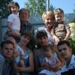 2014 год. Моя семья