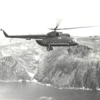 Остров Ратманова с высоты птичьего полёта