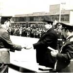 1976 год. Диплом и золотую медаль вручает генерал-армии С.К.Цвигун